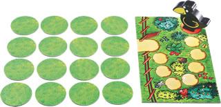 果樹園メモリーゲーム:開始状態