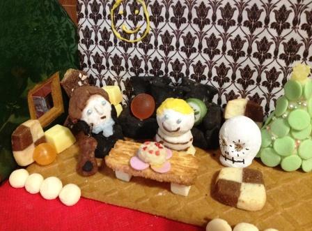 お菓子の家中