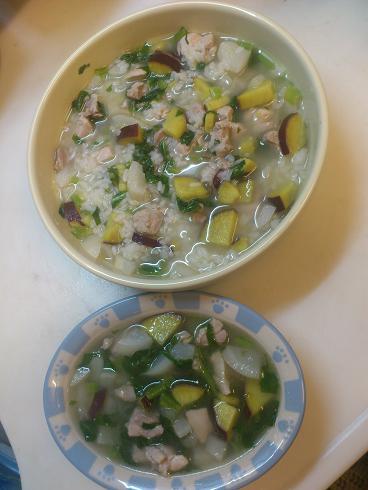 鶏もも肉とかぶのスープ煮(アニジュデ)