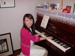 久美子さんピアノ