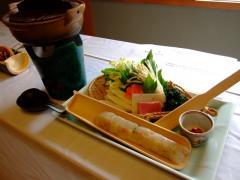 金目鯛と明日葉のつみれ鍋