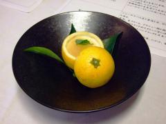 パンナコッタニューサマーオレンジソースがけ