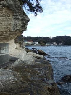 弁天島地層