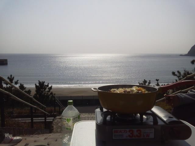 浜尻海岸 鍋