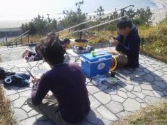 浜尻海岸 鍋 y・k