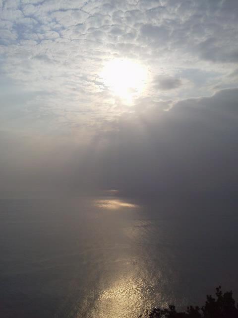 都井岬へ 海