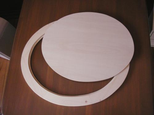 楕円の額4
