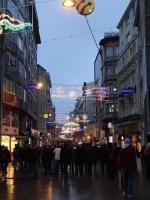 タクシム広場への道