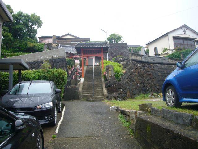 山中観音堂門入口