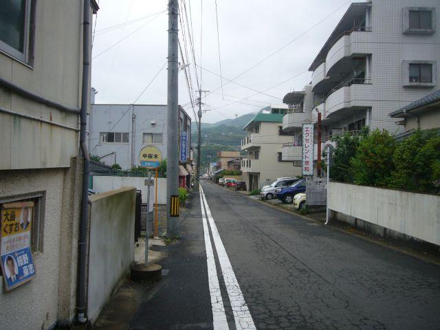 中桜木バス停その2