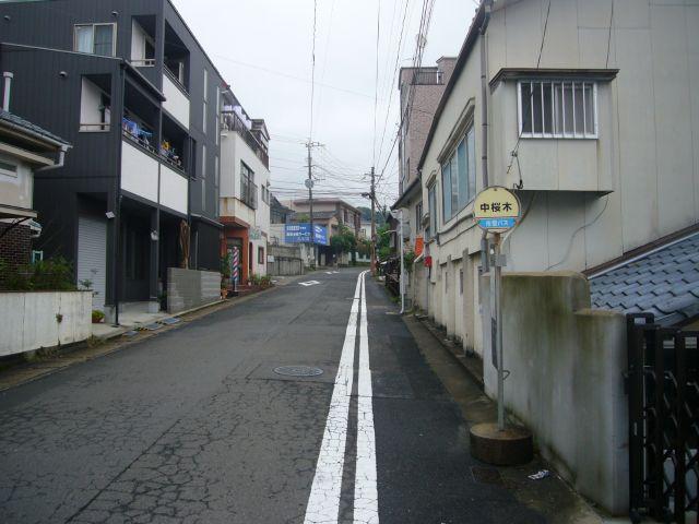 中桜木バス停その3