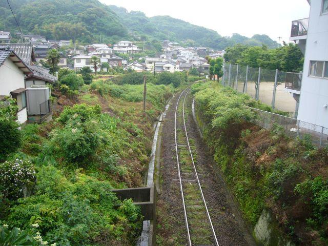 縄手橋より松浦鉄道を越える