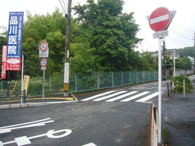 工業高校からまめバス通用道路