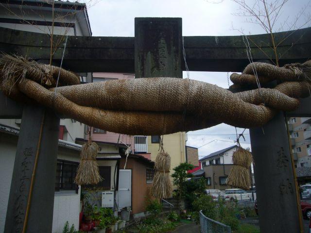 淀姫神社鳥居
