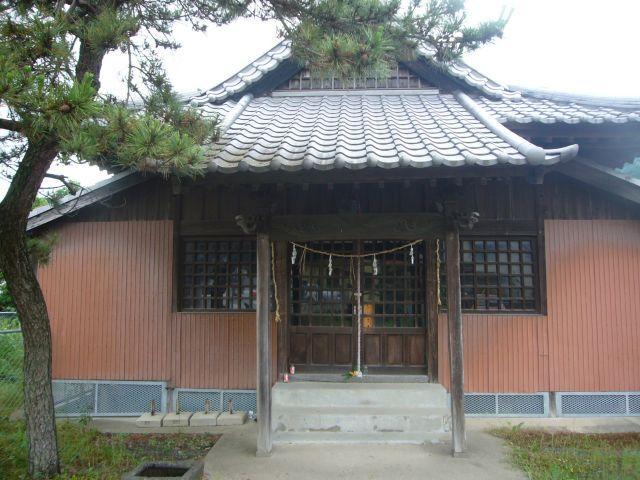 淀姫神社正面