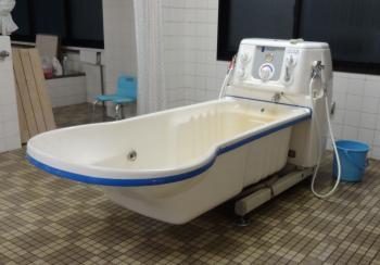 以前の浴槽