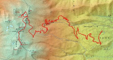 130716乗鞍岳ログ