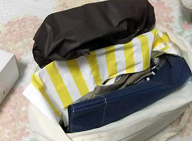 袋が多い…