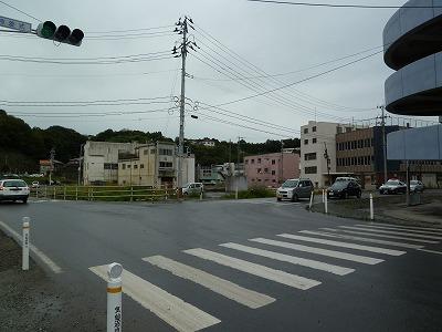 気仙沼の交差点2012