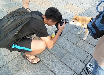 カメラ目線~