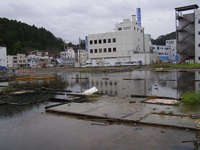 気仙沼の町