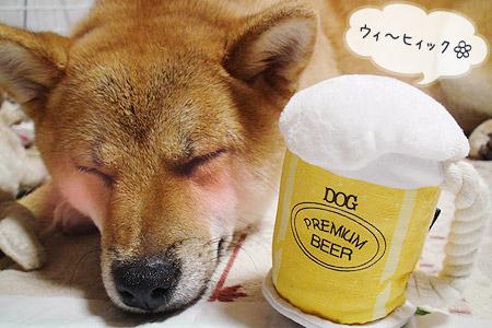 犬のビール?