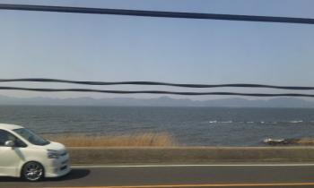 宍道湖 海みたい