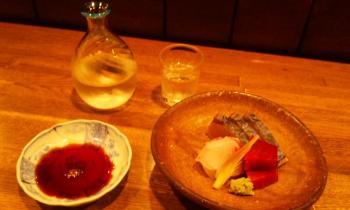 刺身盛り合わせ 炙り鰆 鯛 鮪の赤身
