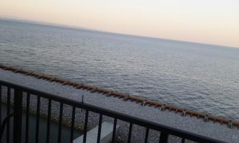 海が見えるお宿