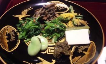 亀の井 夕飯前菜