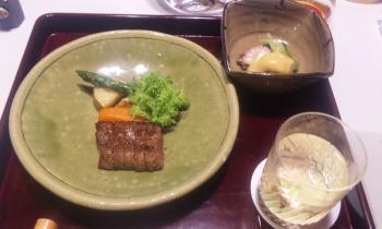 亀の井 メーン料理