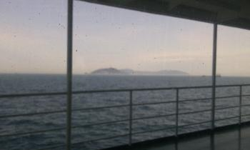 別府 フェリー 船の上景色