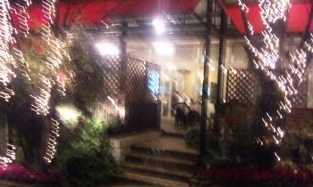 道後温泉 すんごい夕飯食べたホテルのレストラン