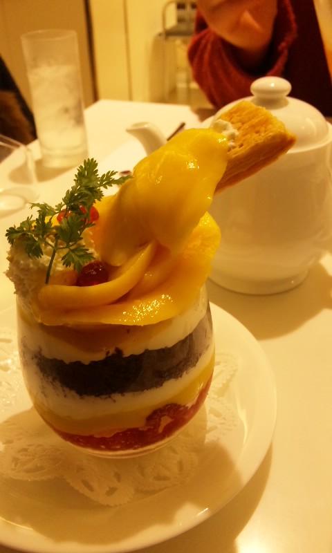タカノフルーツパーラーのマンゴーパフェ