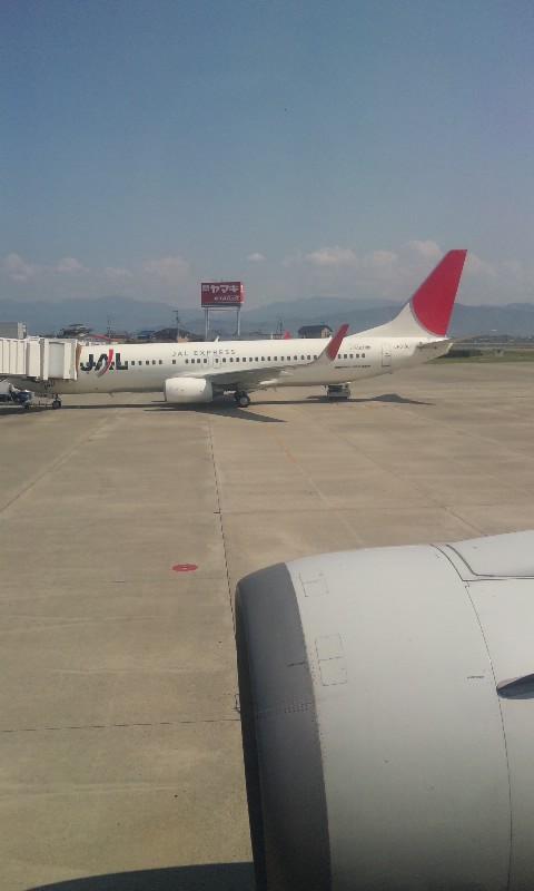 松山 飛行機