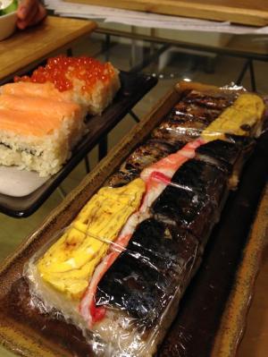 押し寿司鯖