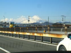 小田原わんぱくランド 往路富士山