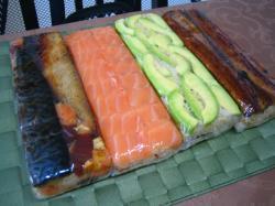 2014年正月 押し寿司