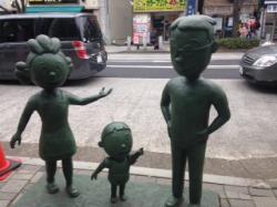 サザエさん銅像2