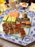 お正月料理 押し寿司2