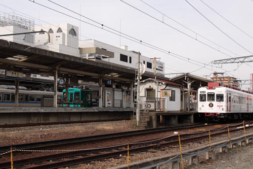 和歌山駅構内の様子