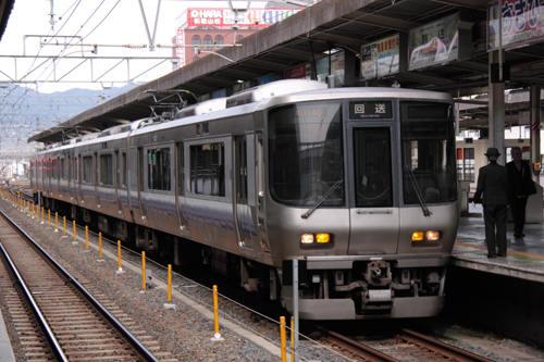 和歌山駅の223系2500番台