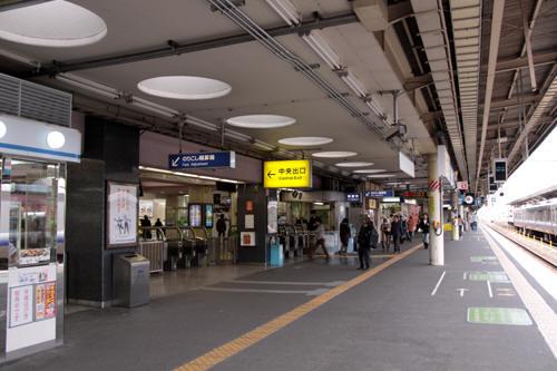 和歌山駅1番線ホーム