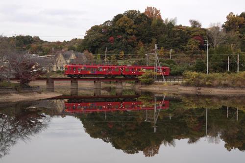 大池遊園~山東間を行くおもちゃ電車