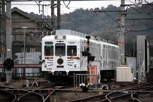 伊太祁曽に留置中のたま電車