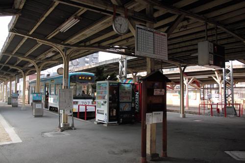 恵比須町駅構内の様子 1