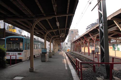 恵比須町駅構内の様子 2