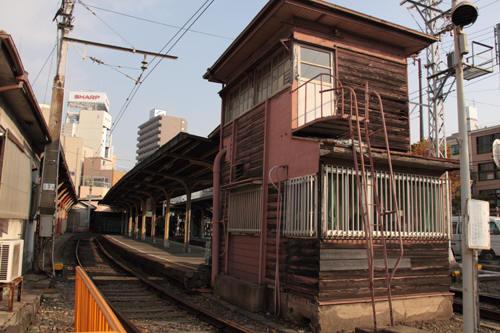 恵比須町駅の様子