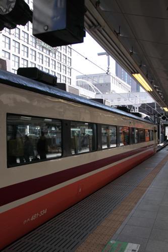 特急きぬがわ5号のクハ481-334