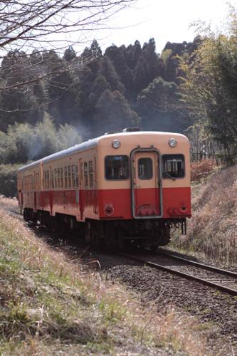 飯給駅へ向かい去る15A列車